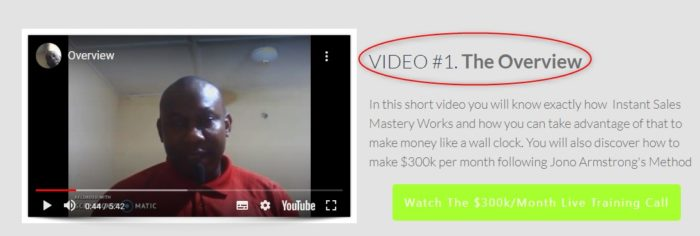 instant sales mastery review